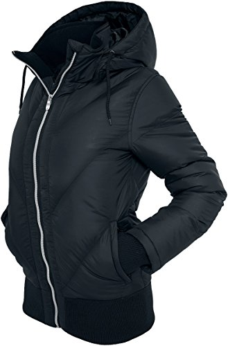 Urban Classics Ladies Arrow Winter Jacket, Color:black;Größe:S