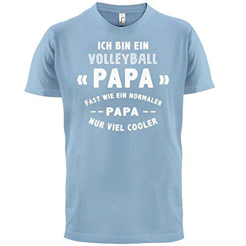 Ich bin ein Volleyball Papa - Herren T-Shirt - 13 Farben Himmelblau