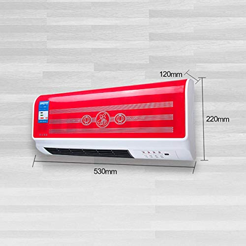 PINK PARI (LABEL)220V Wall Mounted Convection Home Electric Heaters Home Energy Saving And Heating Heating Fan Bathroom Air Conditioning Hot Air Heating