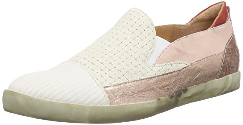 THINK! Seas Slipper, Damen Slipper, Beige (PUDER/KOMBI 39), 38.5 EU