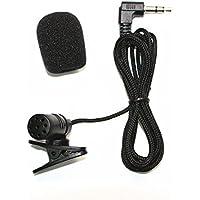 Radio Audio Micrófono 3,5mm Micrófono para PC reproductor de DVD GPS del coche