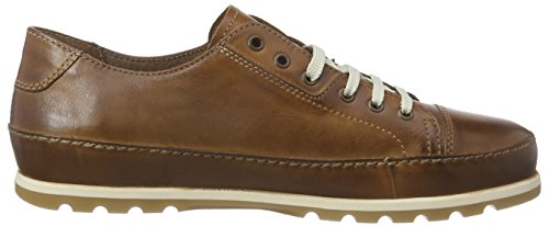 camel active Point 11 Herren Derby Schnürhalbschuhe Braun (Brandy)