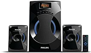 Philips MMS-4545B 2.1 Channel Speakers System (Black)