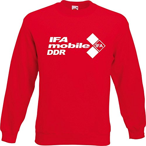 Pullover - IFA mobile DDR Rot