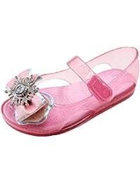 rosenhill pour enfant Little Kid paillettes Gelée Chaussures avec sangle velcro