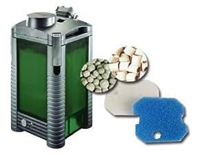 Eheim 2324020 Thermo-Außenfilter professionel 250T mit Filtermasse