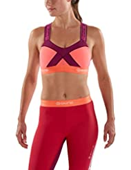 skin' S dnamic Crop Top mujer, Mujer, Skins Dnamic Brassière Femme, Mulberry, small