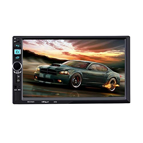 Z-SGYX 7 '' Android 5.1 Touchscreen-Autoradio-Doppel-Din-Stereo-Audio-MP5-Player unterstützen Spiegel-Link/WiFi/Bluetooth/GPS/FM-Auto-MP5-Player (Doppel-din Touch Screen Car Stereo)