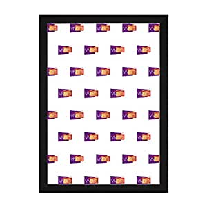 Cadre Photo Couleur Noir Mat, A2 Dimension, 59.4 x 42 cm,