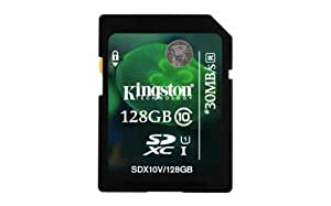 Kingston SD10X/128GB Class 10 SDXC 128GB Speicherkarte