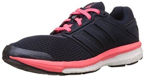 amen Supernova Glide Boost 7 Laufschuhe, Blau (Night Navy/Silver Met./Flash Red S15), 38 EU ()