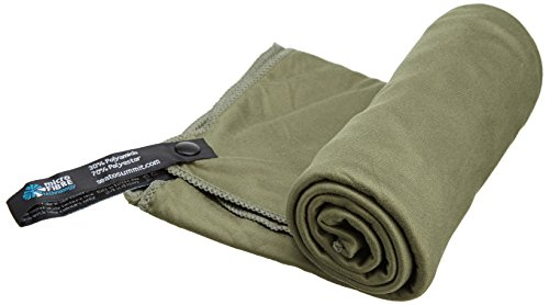 Sea to Summit Pocket Towel L, Farbe Berry, Größe 120x 60cm (Sea To Summit Handtuch)