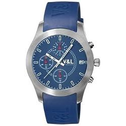 Mans watch V & L TEMPO COMO AGUA DE ABRIL VL016903