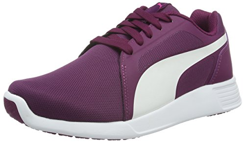 Puma St Trainer Evo, Sneakers Basses mixte adulte Violett (Magenta Purple-puma White 17)