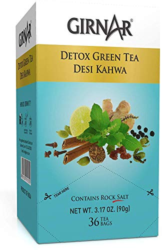GIRNAR Detox Green Tea Desi Kawa