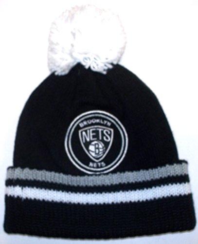 Mitchell & Ness Brooklyn Nets KS01Z Big Man Hi Five Strickmütze - OSFA