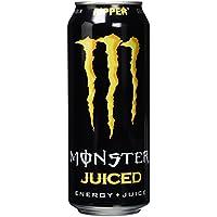 Monster Energy Flavour Ripper Juice mit 30% Fruchtsaft aus tropischen Früchten / Energy Drink Palette mit 24 x 500ml Dosen