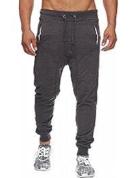 37b78a2acbf797 LandFox-Pantaloni Pantaloni Sportivi da Uomo Casual Pantaloni Sportivi  della Tuta da Allenamento con Jogging Sportivo con Coulisse…