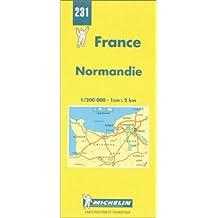 Carte routière : Normandie, N° 231