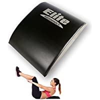 Elite Sportz Equipment Mat Abs: Cojín para Abdominales, increíble Apoyo para la Parte Baja de la Espalda, Hecho para durar. Incluye una Banda de Resistencia de Regalo