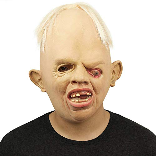 ex Gummi Creepy Horror Goonies Sloth Kopf Masken Gesicht Schrecklich Für Halloween Kostüm Party ()