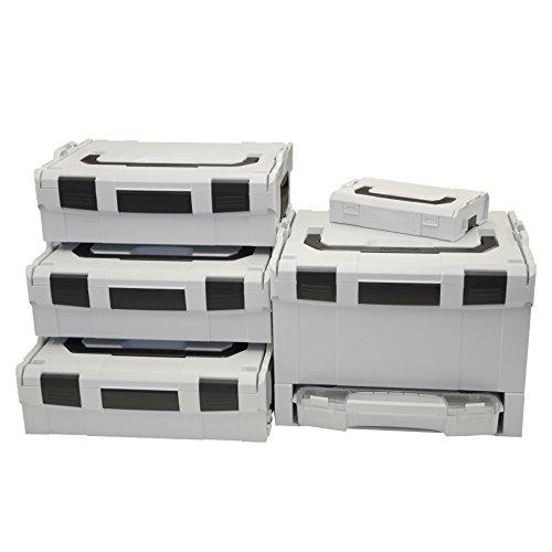 Preisvergleich Produktbild Bosch Sortimo L-Boxx Set 3xGr2 / G3 / i-Rack aktiv / 1 L-Boxx mini incl 1 kg Haribo