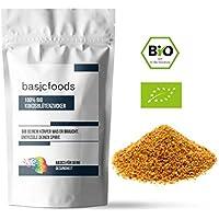 Basicfoods - Bio Kokosblütenzucker 1kg 100% Kokos zucker aus Fairem Handel (Fair Trade) - Niedriger glykämischer Ideal für Diabetiker - 1000g