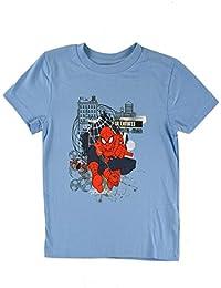 Marvel Jungen T-Shirt Spiderman blau (versch. Größen)