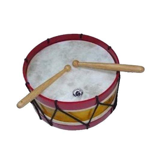 kleine Trommel mit ca. 22,5 cm. Material Holz. Einsatz auch als Mini-Bassdrum. Solider Ton.bunt sortiert A600230