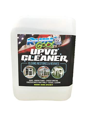 Rhino Goo! 5L UPVC Cleaner - Konzentriertes Produkt für Wintergarten, Fensterrahmen, Türen und Gartenmöbel