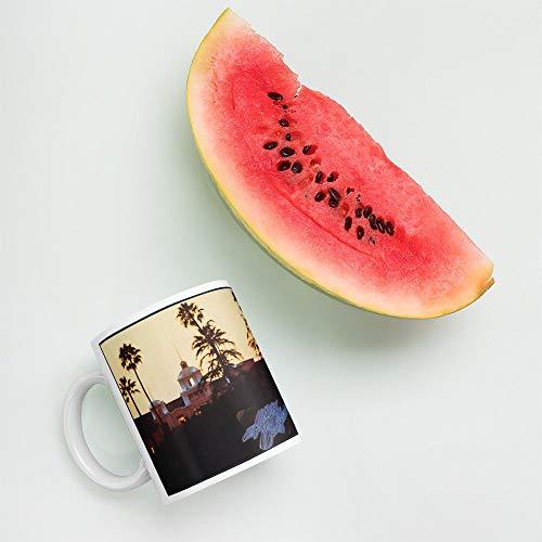 Betsy34Sophia The Eagles Hotel California - Klassischer Rock-Album-Cover 11 Unze-Kaffeetasse -