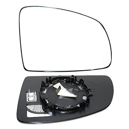 Außenspiegel Spiegelglas Spiegel Glas Ersatzglas Beheizbar Heizung Rechts Kompatibel mit Meriva 2003-2010 OEM 6428780 13148965