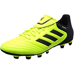 adidas Copa 17.4 Fxg, Scarpe da Calcio Uomo, Giallo (Solar Yellow/Legend Ink/Legend Ink), 43 1/3 EU