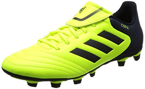 adidas Copa 17.4 FxG, Scarpe da Calcio Uomo, Giallo (Solar Yellow/Legend Ink/Legend Ink), 42 2/3 EU