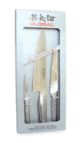 Global Yoshikin G-21524 - Juego de 3 cuchillos de cocina (G-2, GF-15 y