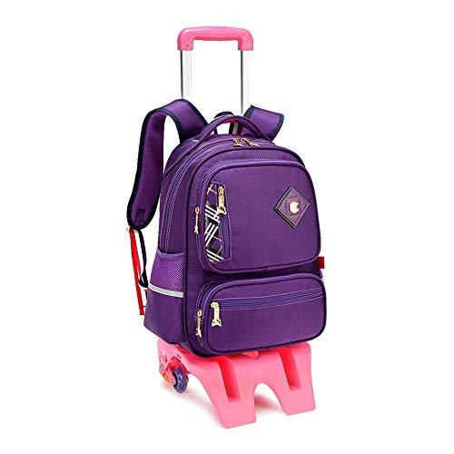 6a10dee4a Mochila De Viaje - Estudiante Trolley para Niños, Hombres Y Mujeres Mochila  Desmontable Carro De