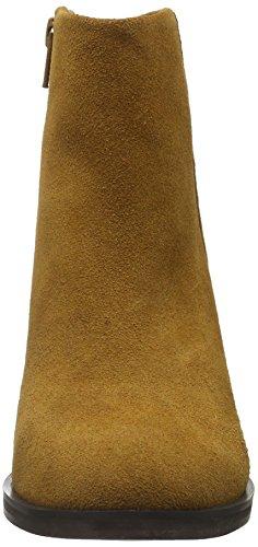 Buffalo 14b57-4 Cow Suede, Bottes Classiques femme Marron - Braun (Cognac 01)