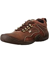 Gliders (From Liberty) Men's Wilson Brown Leather Sneakers - 8 UK/India (42 EU)