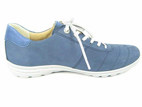 Hartjes  65262-4824, Chaussures de ville à lacets pour femme Bleu