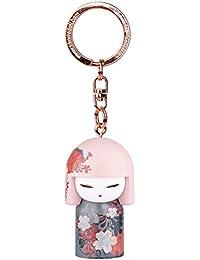 Porte clé Kokeshi Kimmidoll 5cm Chika - sagesse