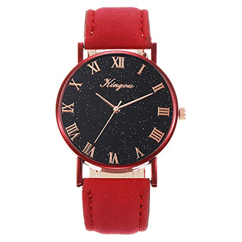 XZDCDJ Damen Uhren Sale Damen Ledergürtel Uhr Starry Sky Simple Belt Watch - Uhr Damen Automatik Seiko 5
