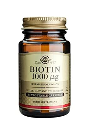 Solgar Biotin 1000 ŵg Vegetable Capsules, 50 from Solgar