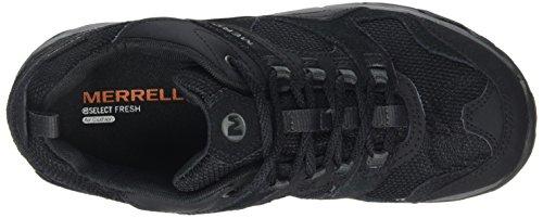Merrell Damen J358 Trekking-& Wanderhalbschuhe Schwarz (Black)