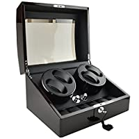 OneToPia 4+6 Automatic Watch Winder Luxury Display Box Storage Case Organizer Gift �??