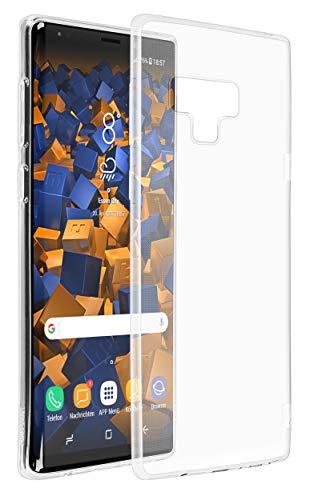 mumbi UltraSlim Hülle für Samsung Galaxy Note 9 Schutzhülle transparent (Ultra Slim - 0.70 mm) (Galaxy Note Edge-akkudeckel)