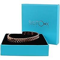 Slim Magnetisch glänzend kupfer Armreif/Armband Reifenprofil Design by sisto-x ® GESUNDHEIT Stärke 6Magnete preisvergleich bei billige-tabletten.eu