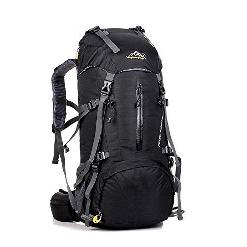 Imagen de skysper 50l  de senderismo al aire libre  de senderismo macutos impermeable ergonómica para viajes excursiones acampadas trekking alternativa