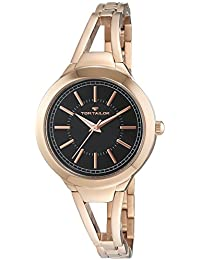 TOM TAILOR Damen-Armbanduhr Analog Quarz Edelstahl beschichtet 5413801