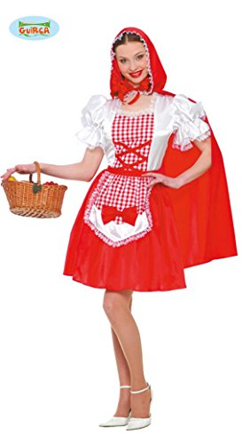 Imagen de disfraz caperucita roja de mujer talla standar m l = 38 40