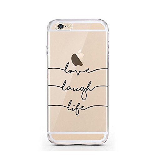 iPhone 7 Hülle von licaso® für das Apple iPhone 7 aus TPU Silikon Life's a Struggle when you're a Muggle Harry Potter Muster ultra-dünn schützt Dein iPhone 7 & ist stylisch Case Design Schutzhülle Bum LLL